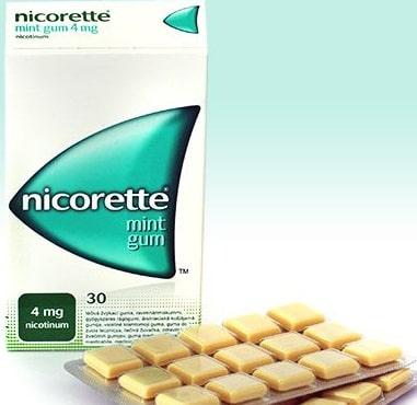 Жвачка от курения Никоретте